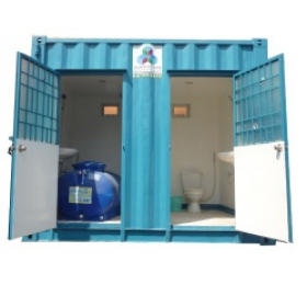 Container tolet 10 feet đẹp